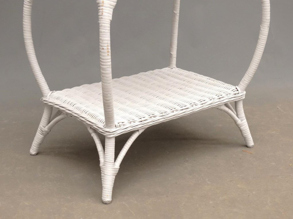 Wicker Sewing Table - 4