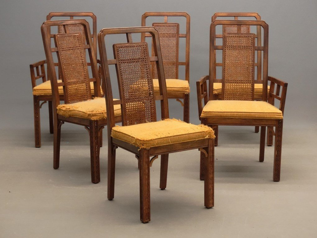 Set Of Chinese Style Chairs