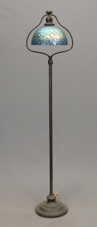 Handel Lamp With Shade