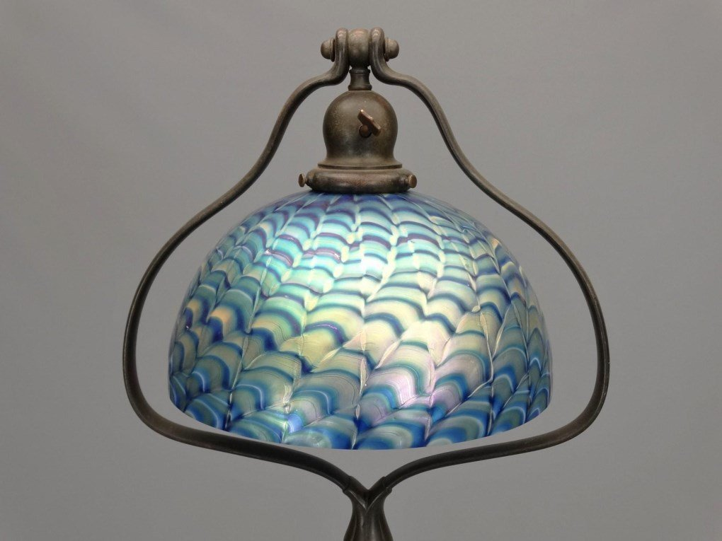 Handel Lamp With Shade - 2