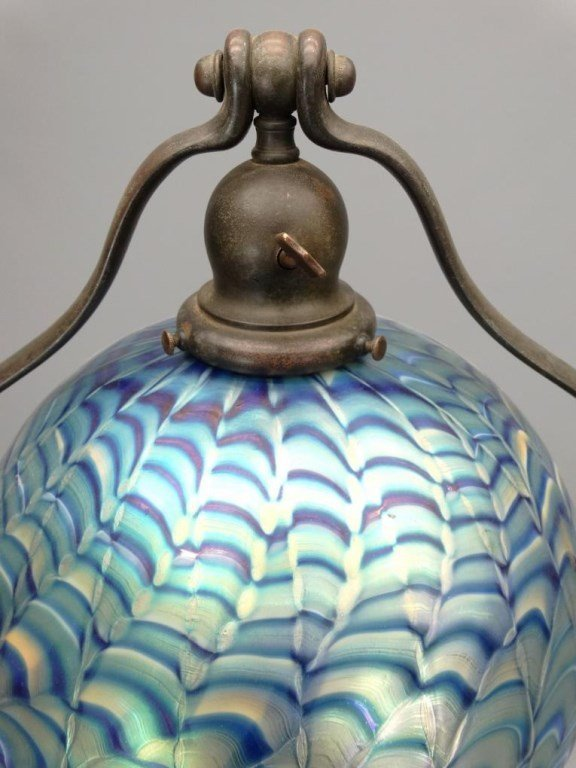 Handel Lamp With Shade - 3