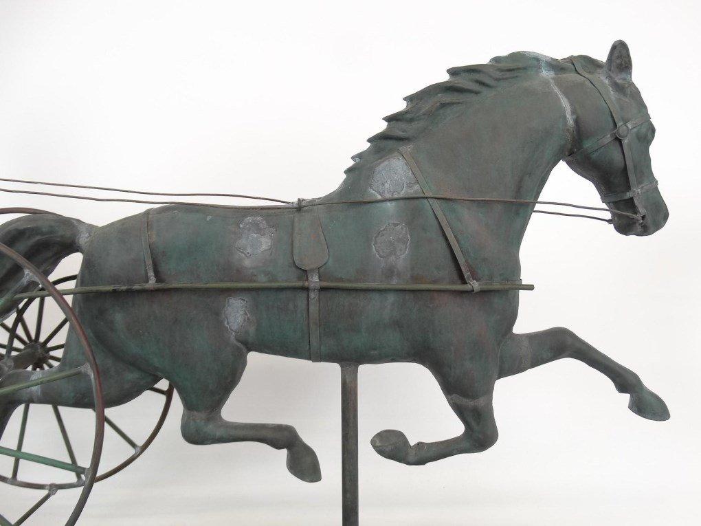 Horse And Sulky Weathervane - 8