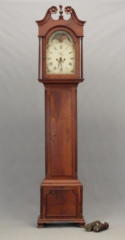 18th c. Grandfather Clock