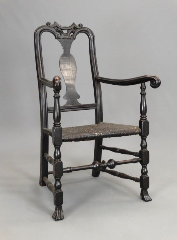 Important 18th c. Armchair - 2