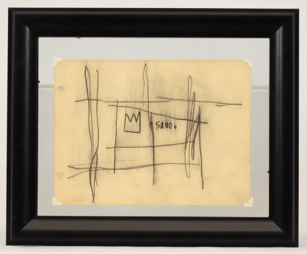 Jean Michel-Basquiat (N.Y. 1960-1988)
