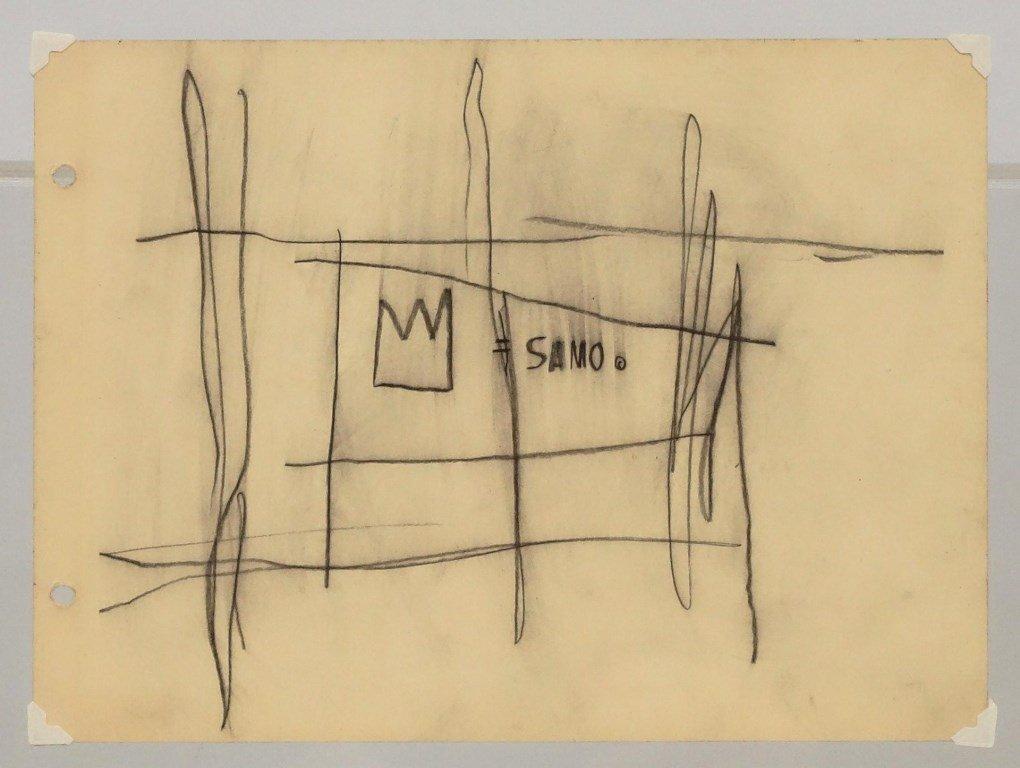 Jean Michel-Basquiat (N.Y. 1960-1988) - 2