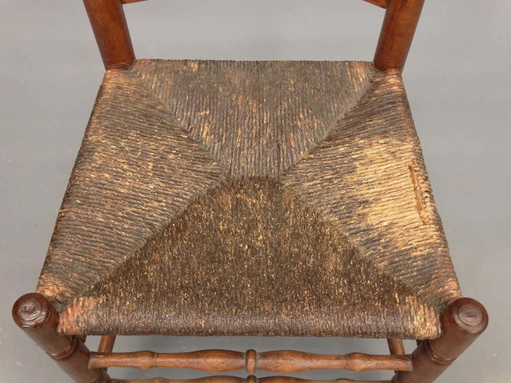 Set of (6) 18th c. Demarest N.J. Chairs - 5