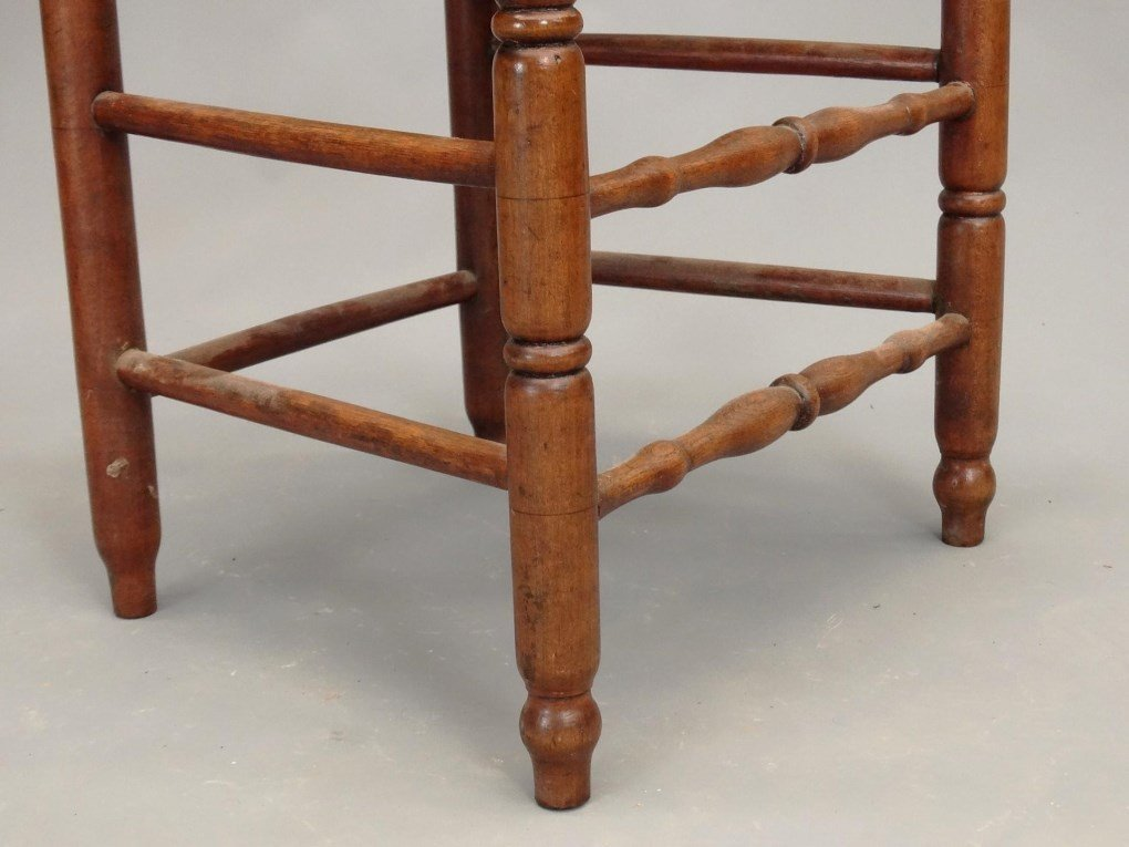 Set of (6) 18th c. Demarest N.J. Chairs - 7