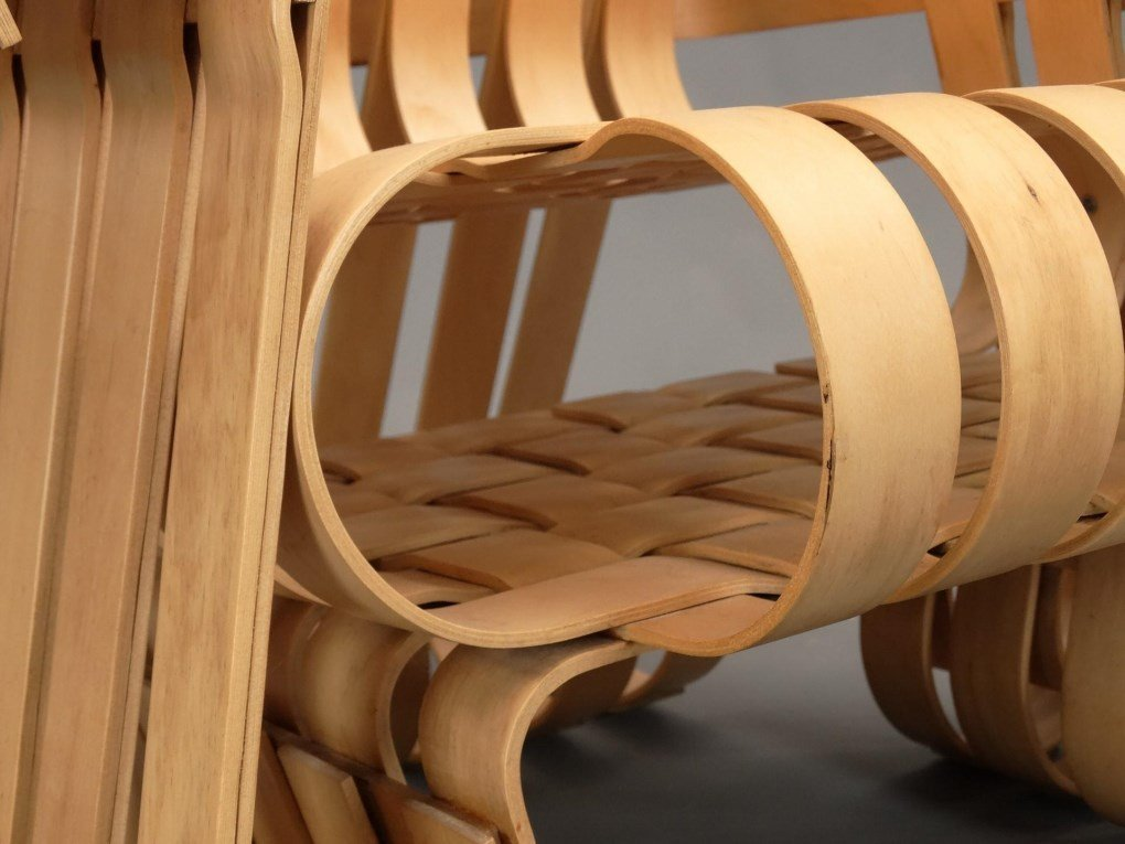 """Frank Gehry For Knoll """"Power Play"""" Chairs - 10"""