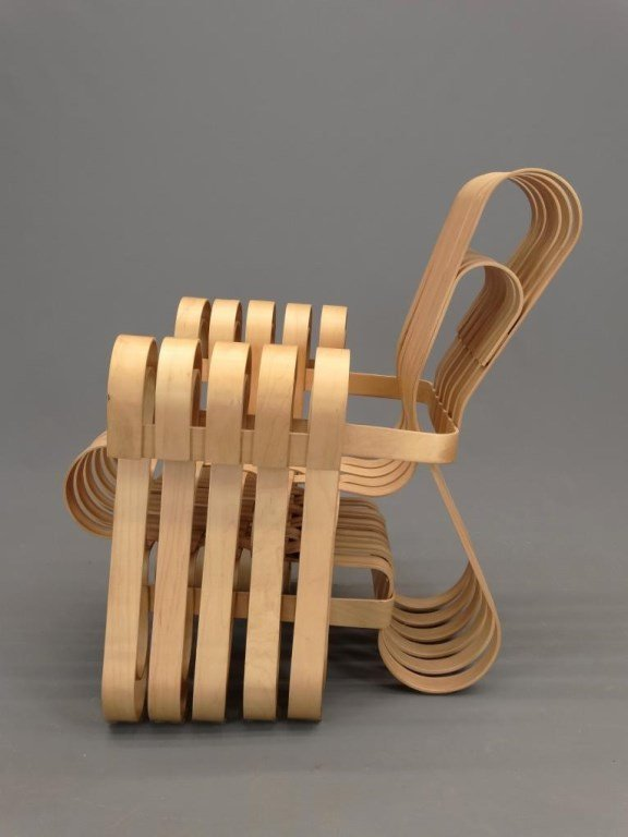 """Frank Gehry For Knoll """"Power Play"""" Chairs - 4"""