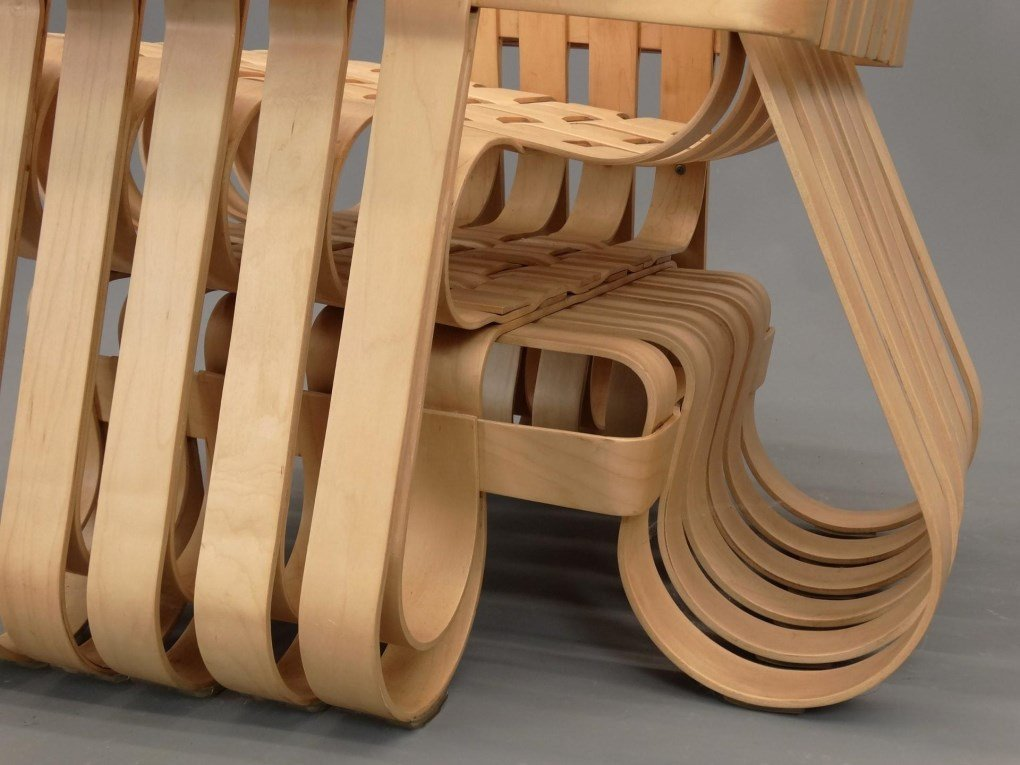"""Frank Gehry For Knoll """"Power Play"""" Chairs - 5"""