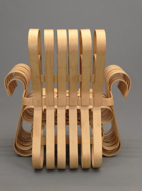 """Frank Gehry For Knoll """"Power Play"""" Chairs - 6"""