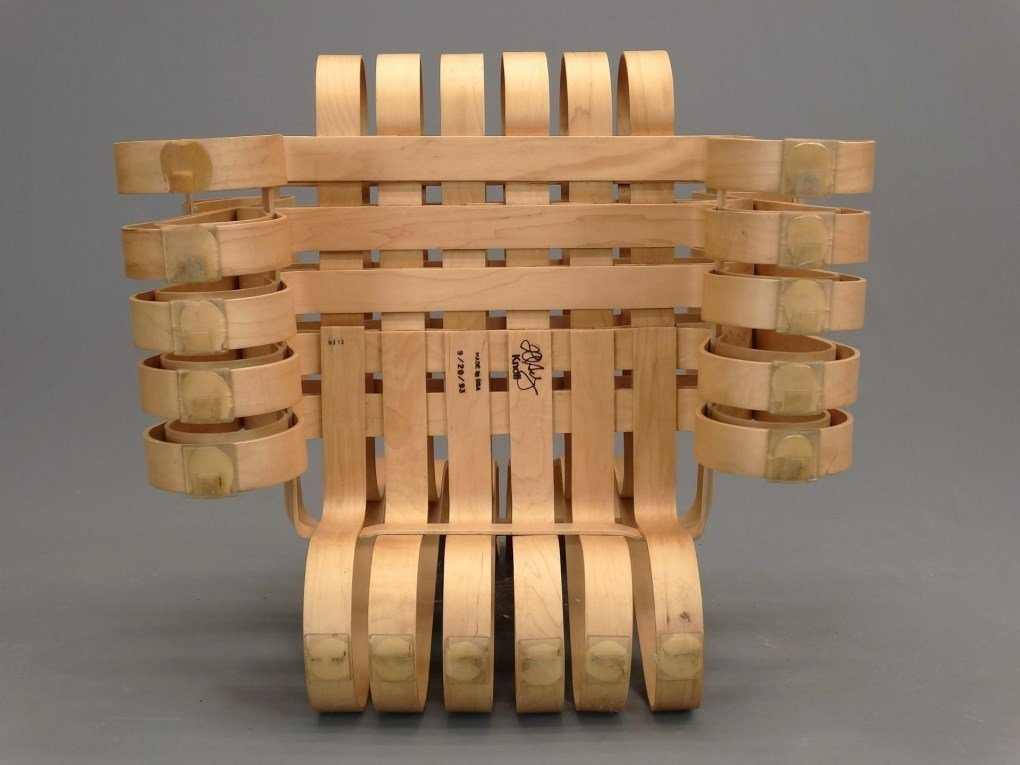 """Frank Gehry For Knoll """"Power Play"""" Chairs - 7"""