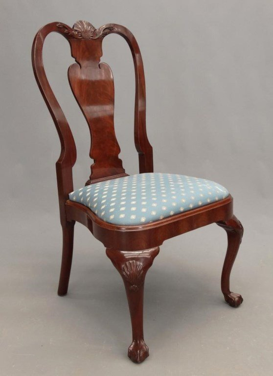 Set of (8) Queen Anne Style Chairs - 5