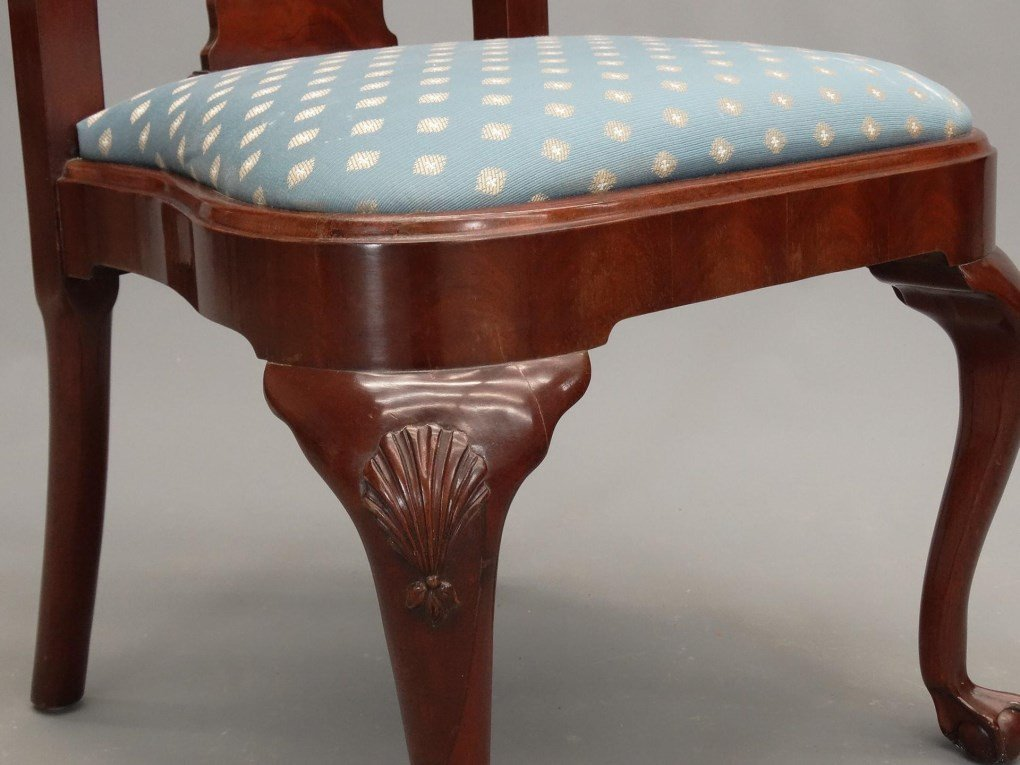 Set of (8) Queen Anne Style Chairs - 6