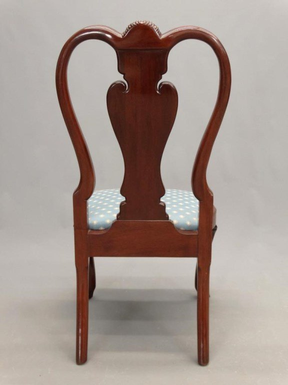 Set of (8) Queen Anne Style Chairs - 8
