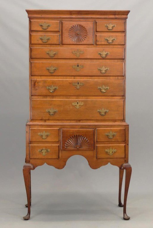 Norris Family Connecticut Highboy