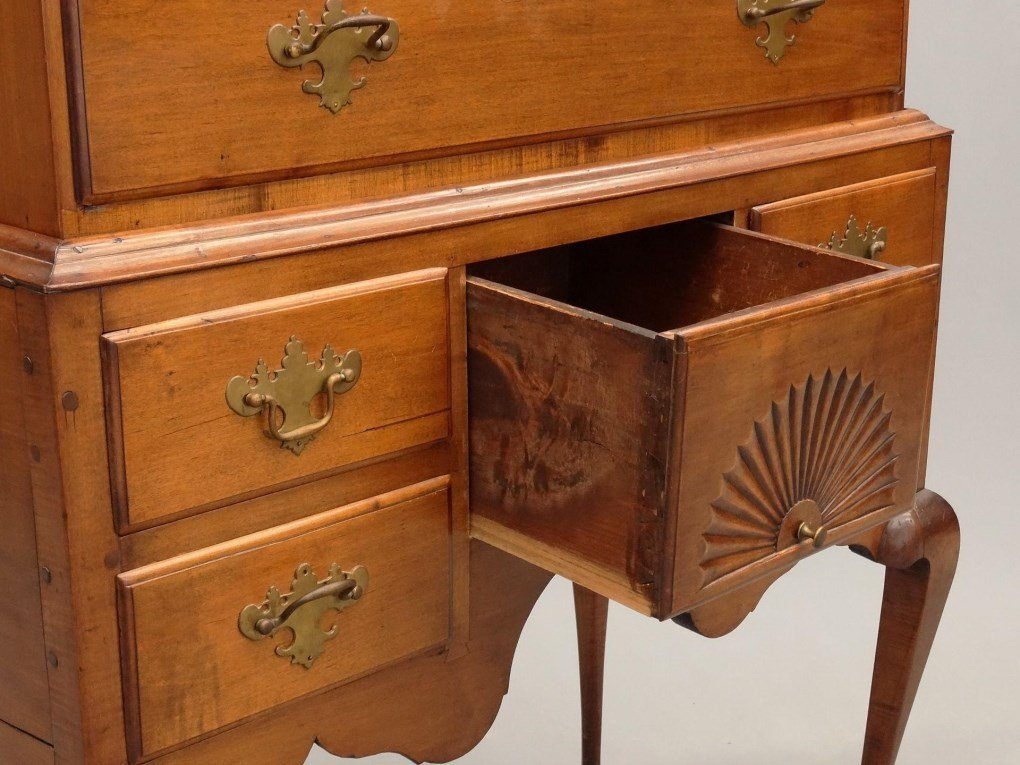 Norris Family Connecticut Highboy - 9