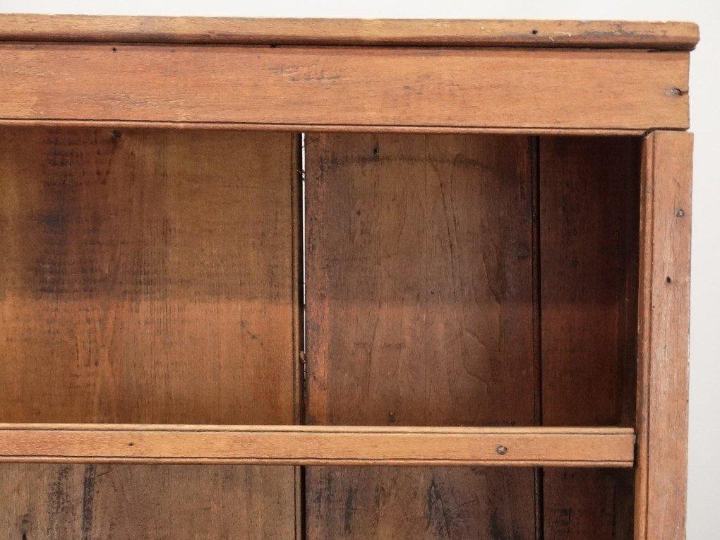 18th c. Butternut Wall Cupboard - 2