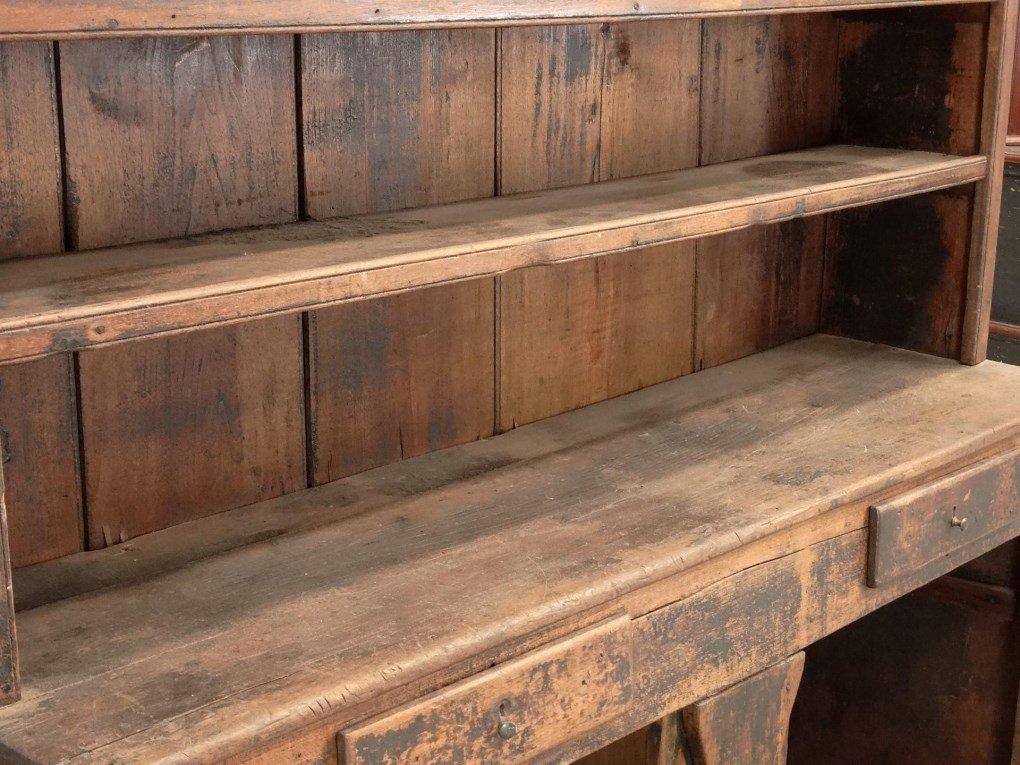 18th c. Butternut Wall Cupboard - 3