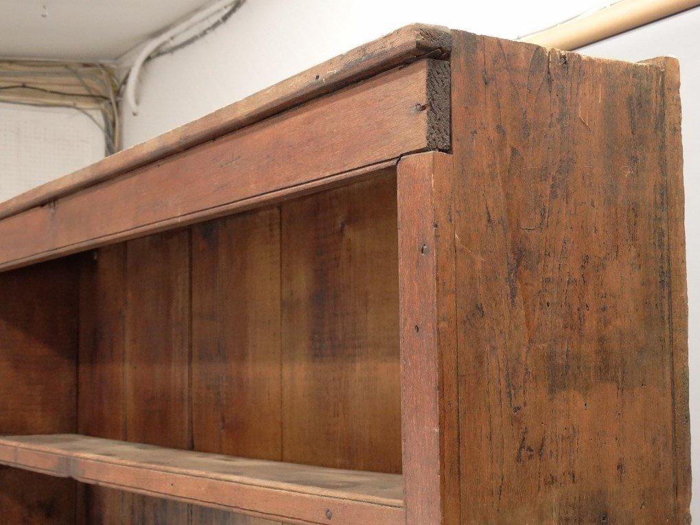18th c. Butternut Wall Cupboard - 7
