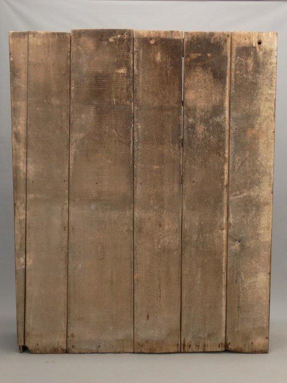 18th c. Butternut Wall Cupboard - 8