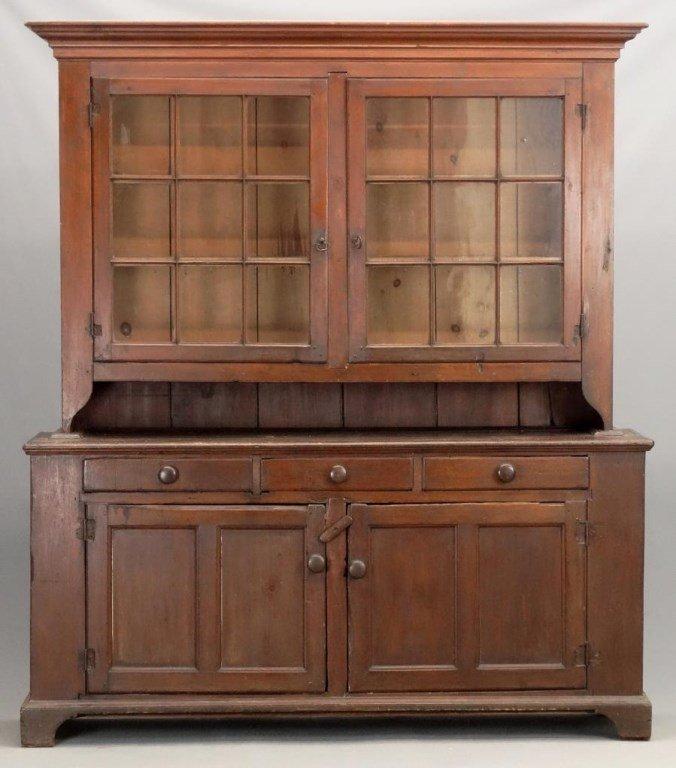 19th c. Pennsylvania Dutch Cupboard