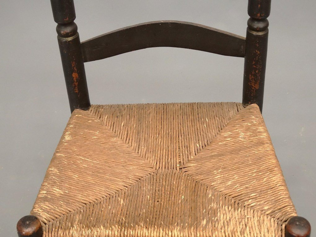18th c. Bergen County New Jersey Chair - 3