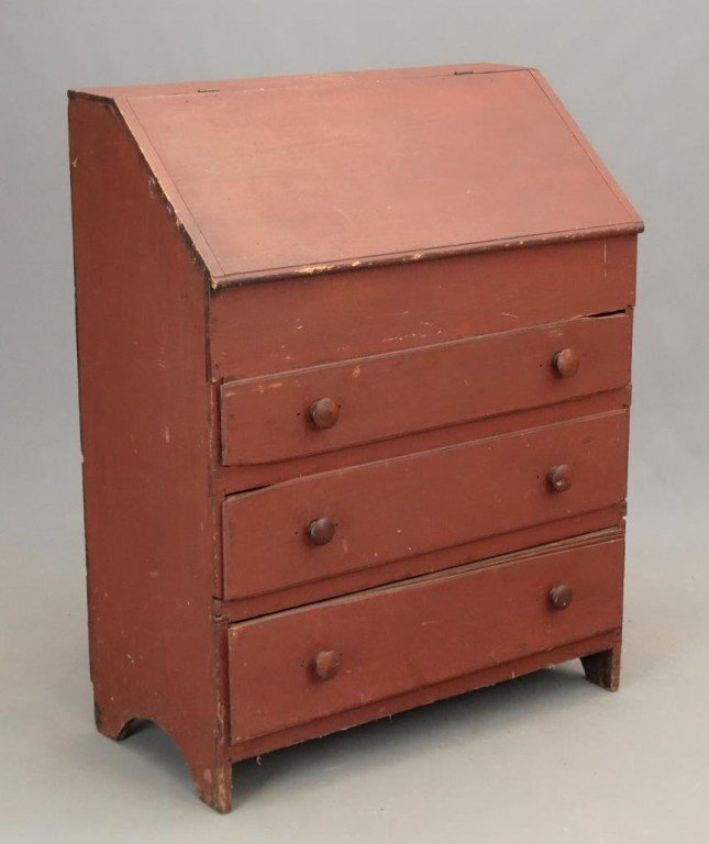 19th c. Primitive Desk