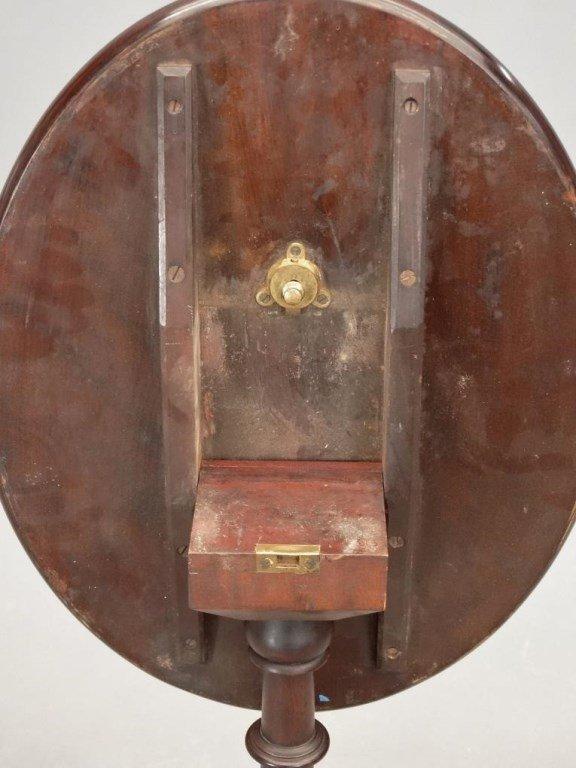 19th c. Cherry Tilt Top Candlestand - 6
