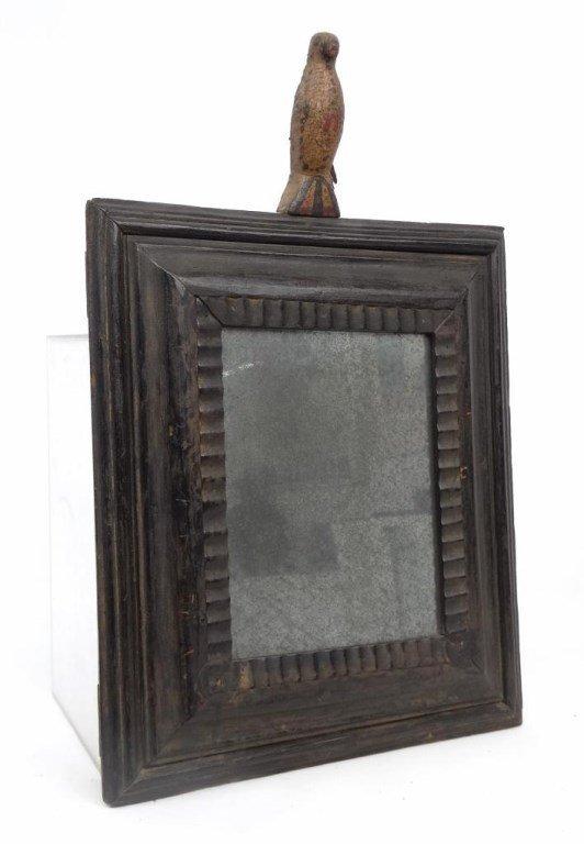 Pair 19th c. Folk Art Frames - 2