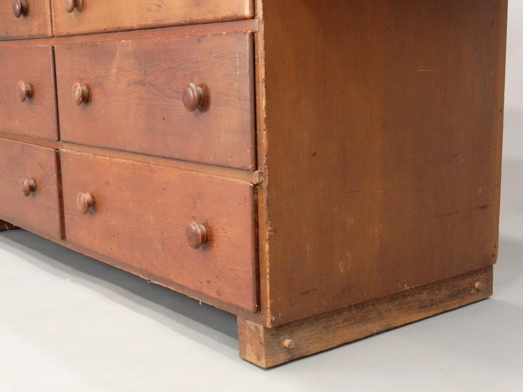 19th c. Shaker Tailoring Counter - 7