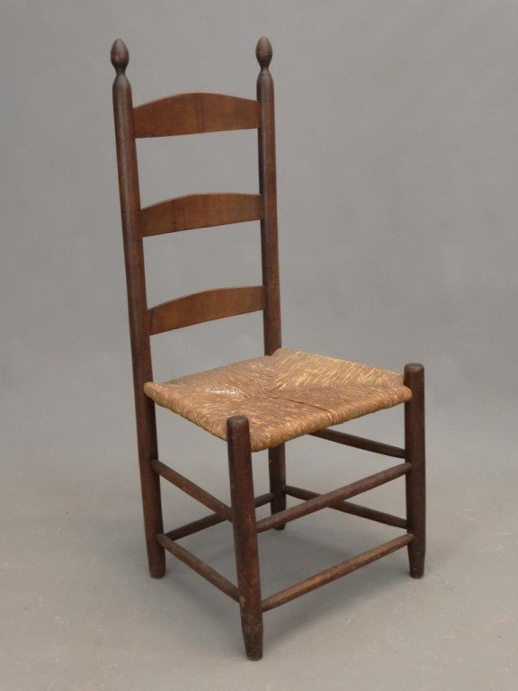Three 19th c. Shaker Chairs - 2