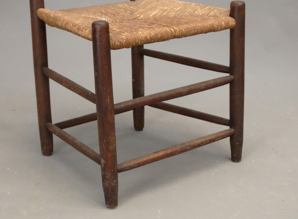 Three 19th c. Shaker Chairs - 5