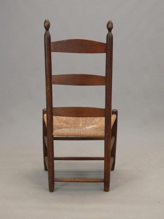 Three 19th c. Shaker Chairs - 6