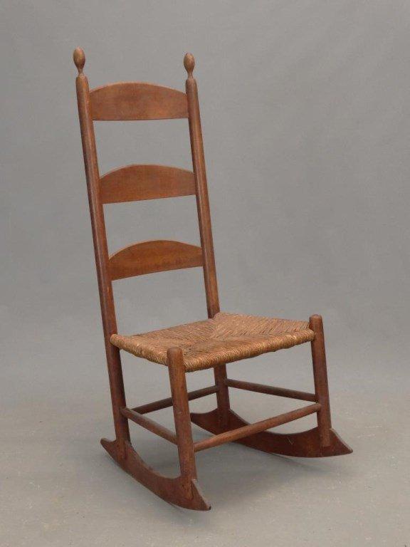 19th c. Shaker Rocking Chair