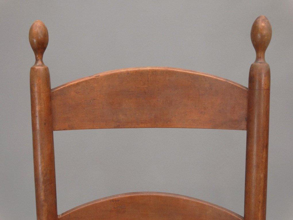 19th c. Shaker Rocking Chair - 2