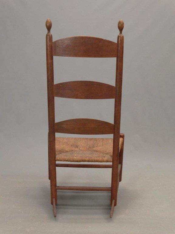 19th c. Shaker Rocking Chair - 5
