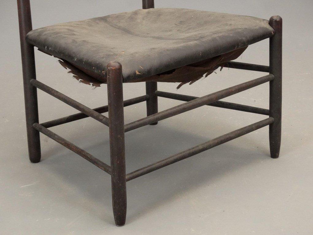 19th c. Shaker Chair - 4