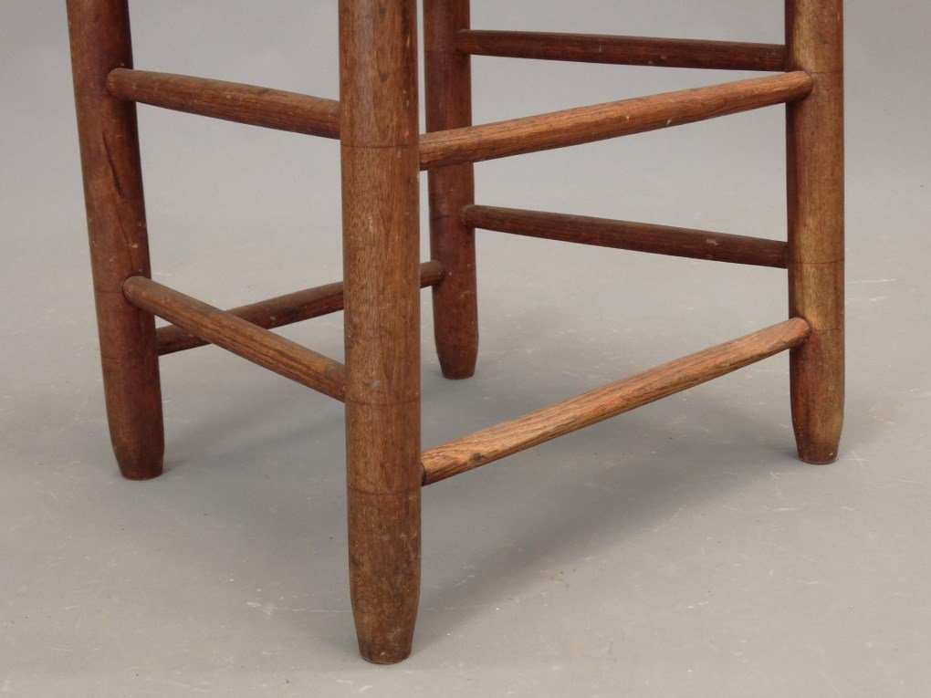 19th c. Shaker Chair - 4