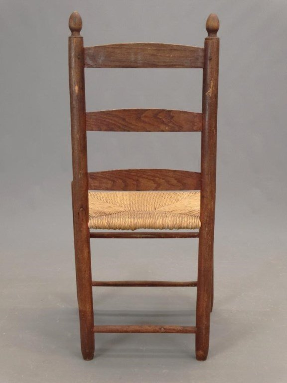 19th c. Shaker Chair - 5