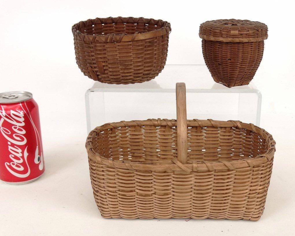 19th c. Shaker Baskets
