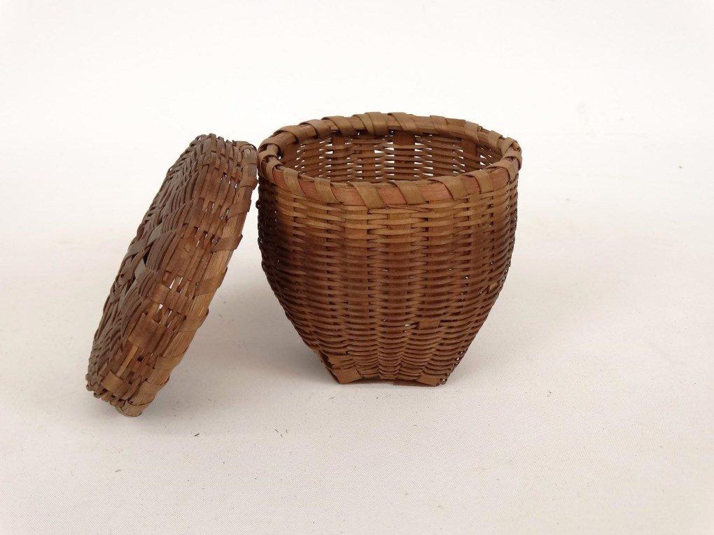 19th c. Shaker Baskets - 3