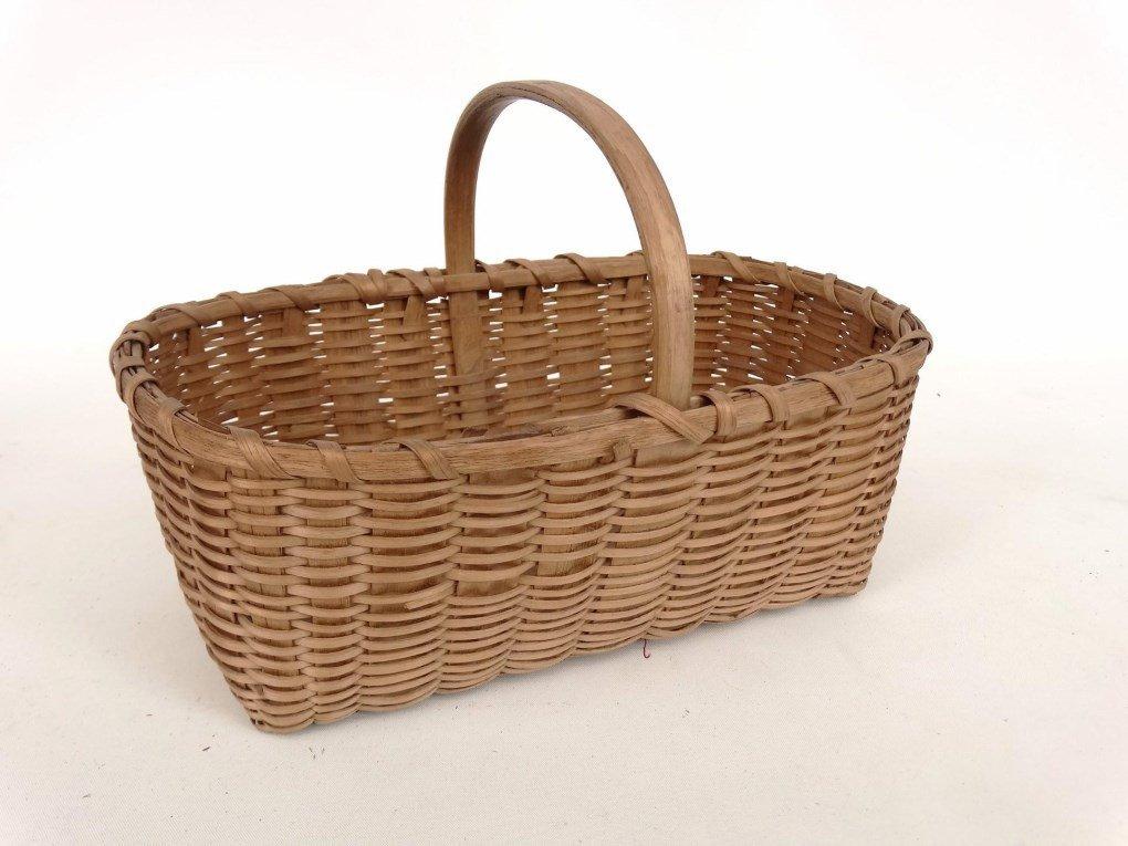 19th c. Shaker Baskets - 5