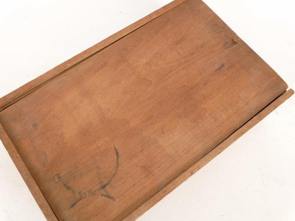 19th c. Shaker Slide Lid Box - 4