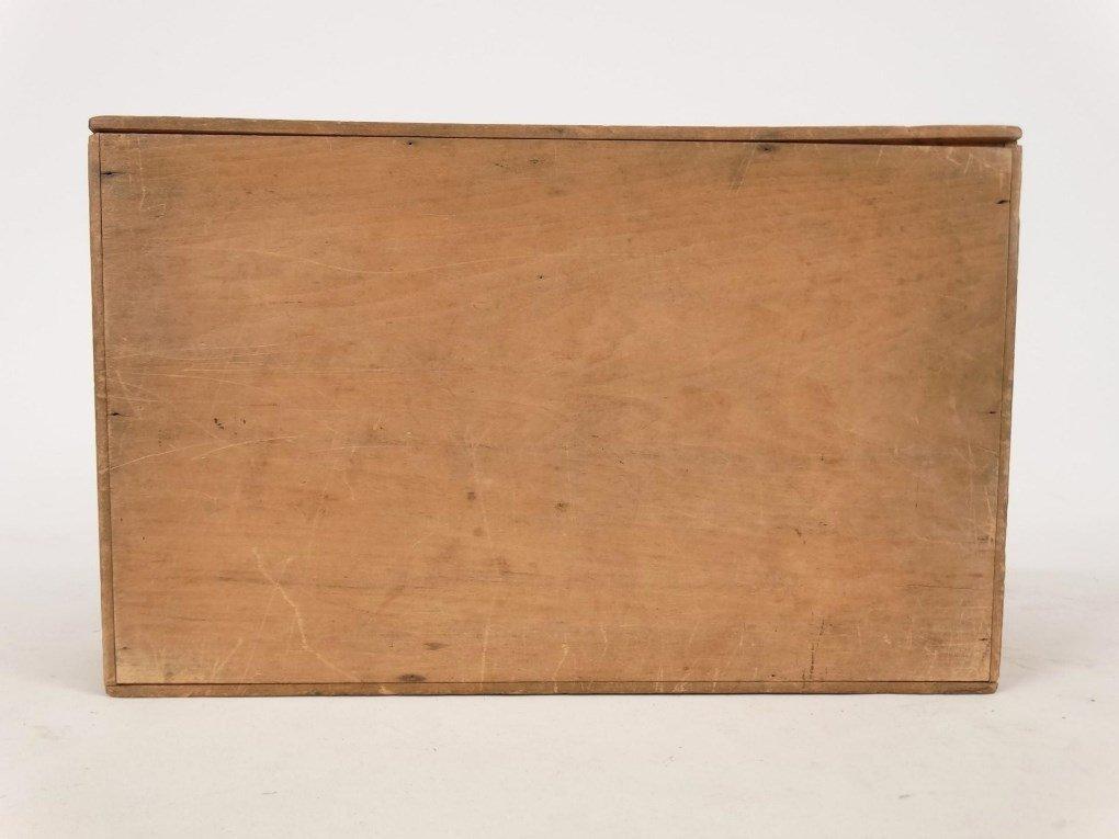 19th c. Shaker Slide Lid Box - 6