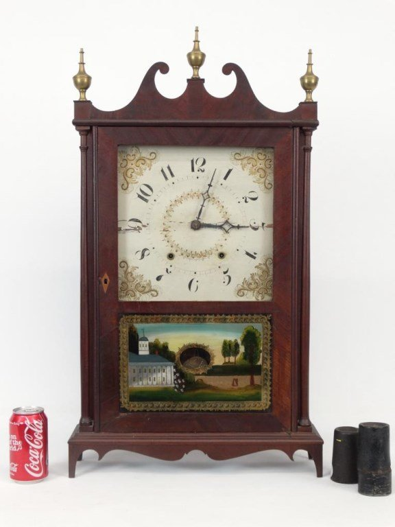 19th c. Eli Terry Shelf Clock