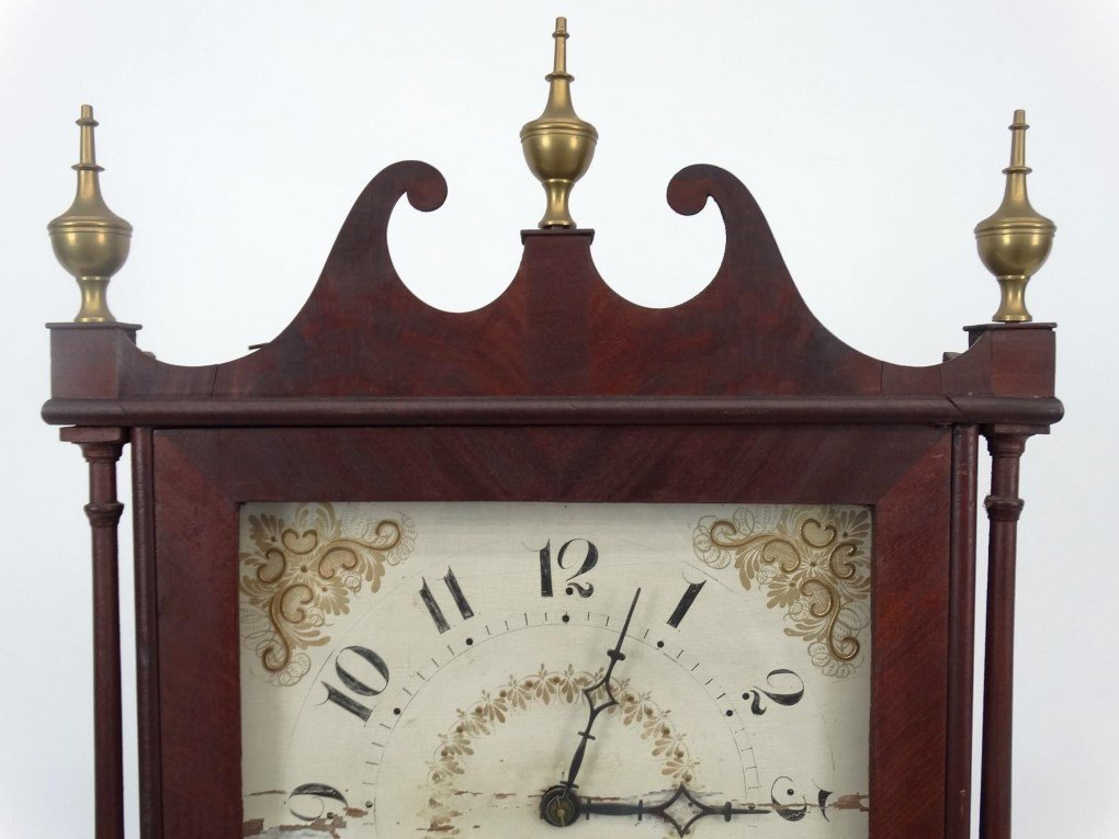 19th c. Eli Terry Shelf Clock - 2