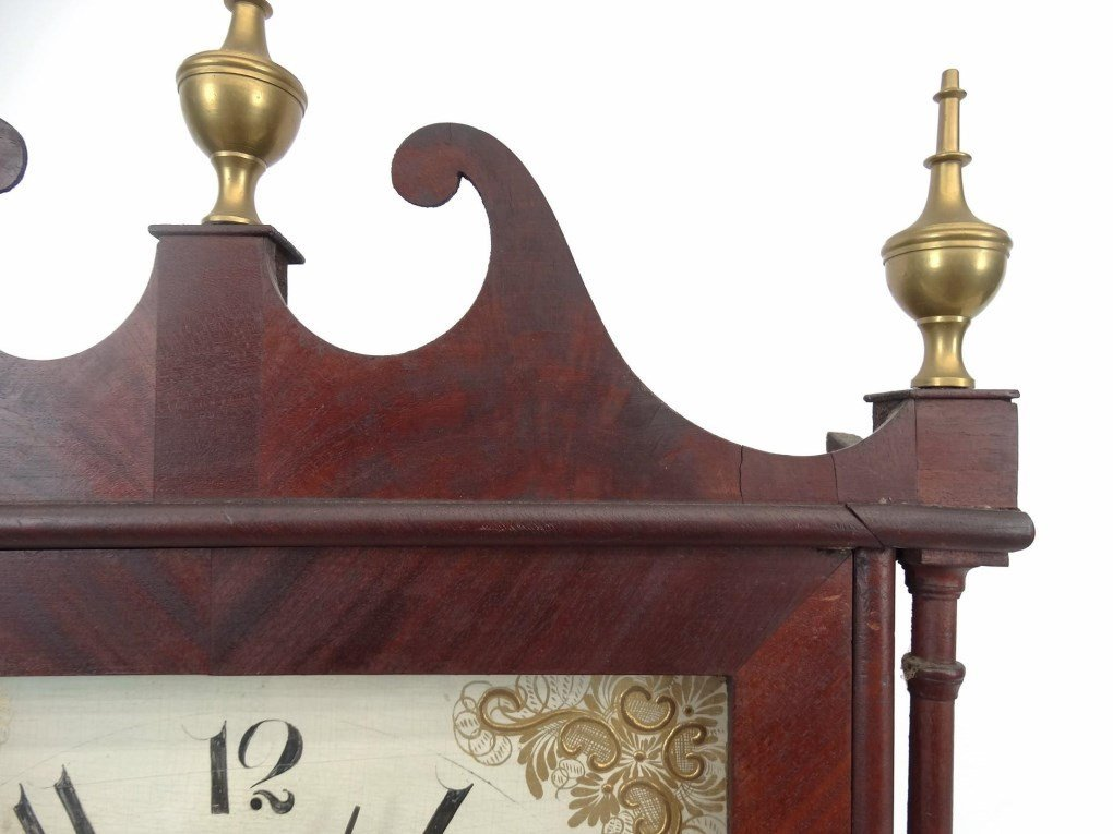 19th c. Eli Terry Shelf Clock - 4