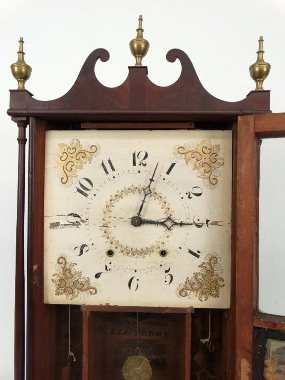 19th c. Eli Terry Shelf Clock - 5
